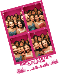 Mitzvah Photo Booth Photo