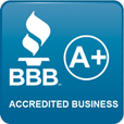 Better Business Bureau Accredited Business - A+ Rating